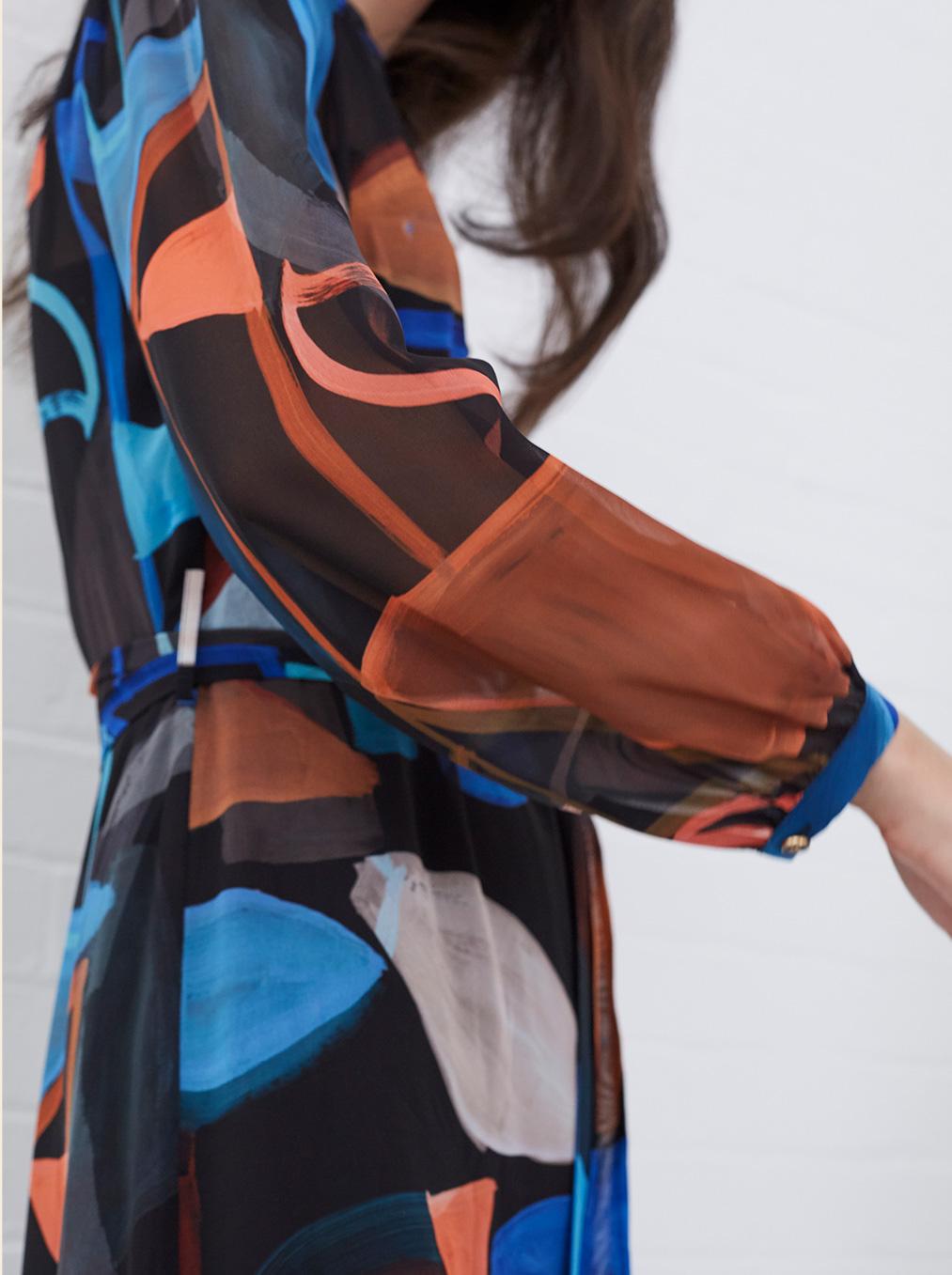 Nemi Shapes Chiffon Dress £110