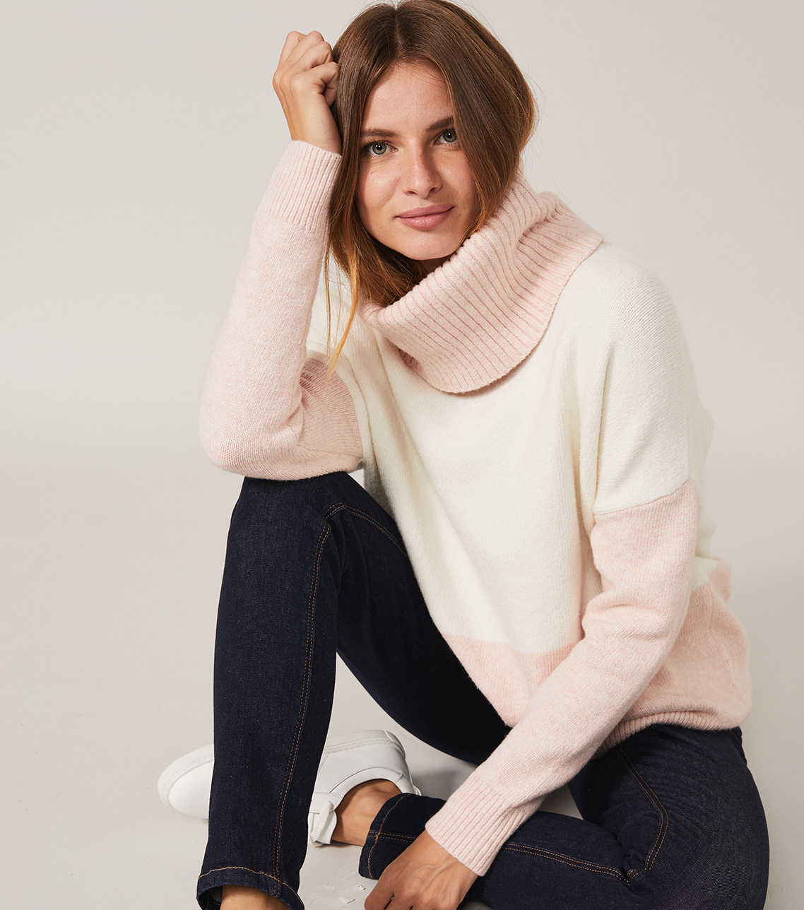 The Ettey Jumper in two colours