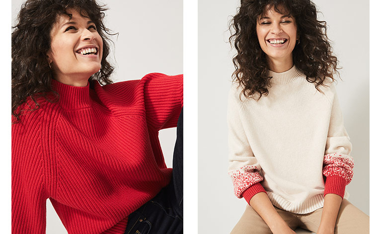 Knitwear styles for now