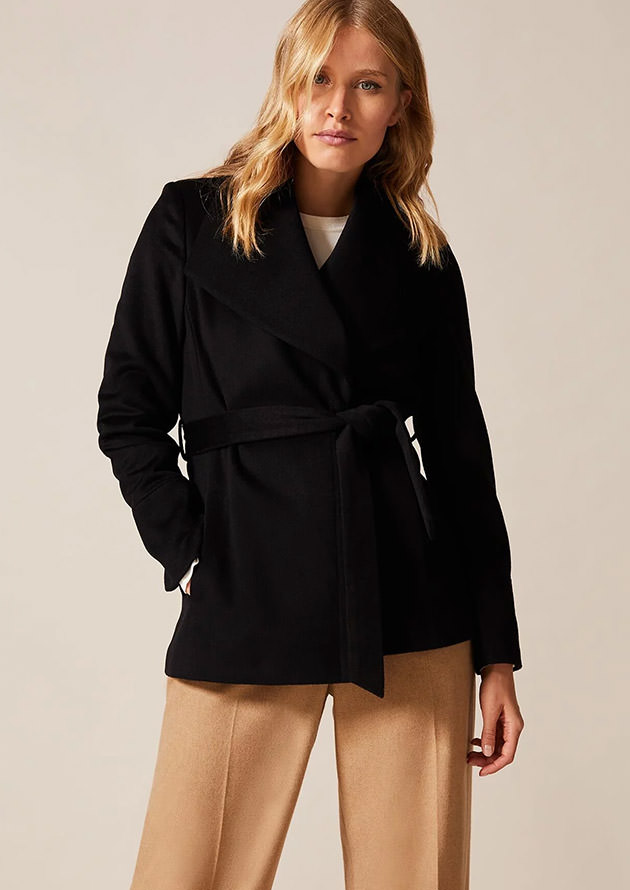 Nicci Short Wool Coat
