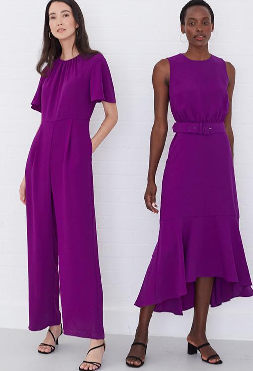 Andela Fluted Sleeve Jumpsuit £125 | Karli Belted Dress 120