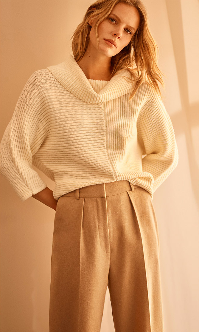 Shop Elodie Cowl Jumper