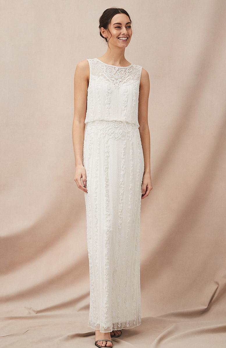 Evalina Embellished Wedding Dress £495