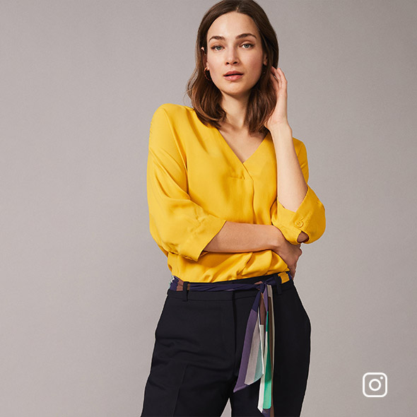 Maurica Fold Front Blouse