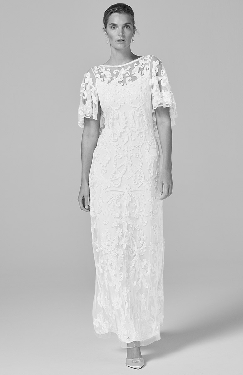 Avianna Tapework Lace Wedding Dress - £395