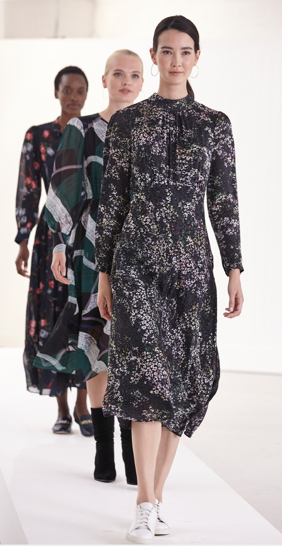 Elinore Printed Burnout Dress £140