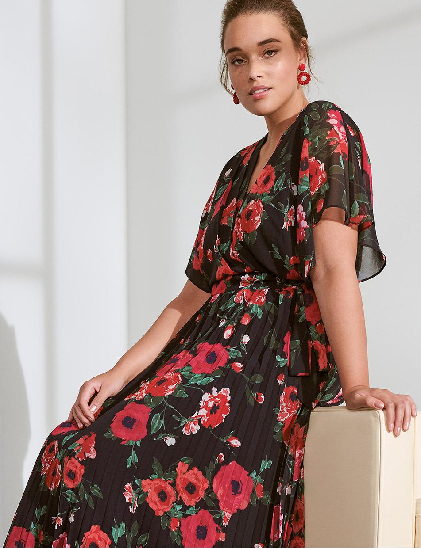 Lydia Floral Maxi Dress