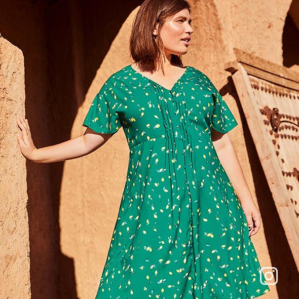 Juliet Print Dress