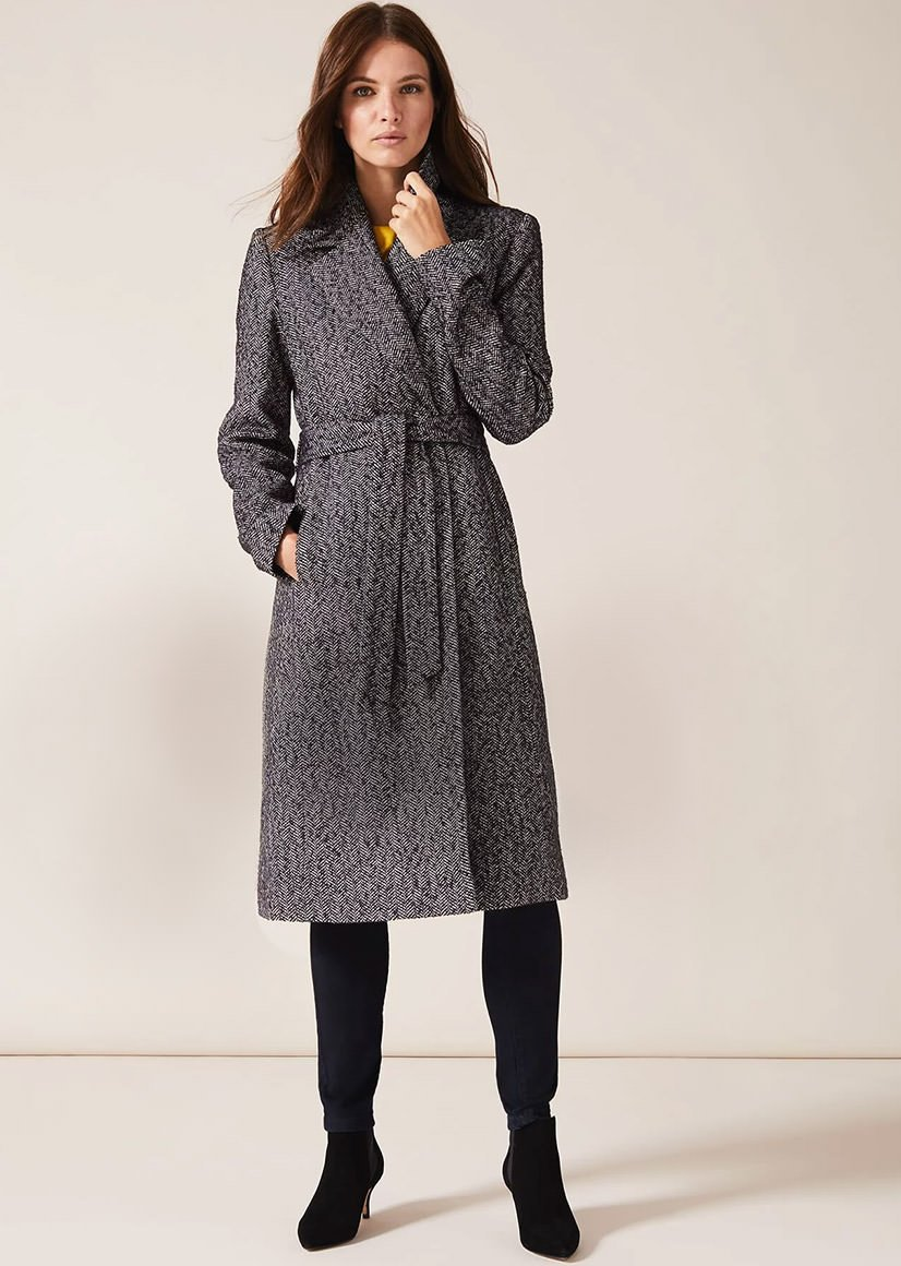 Tess Tweed Coat