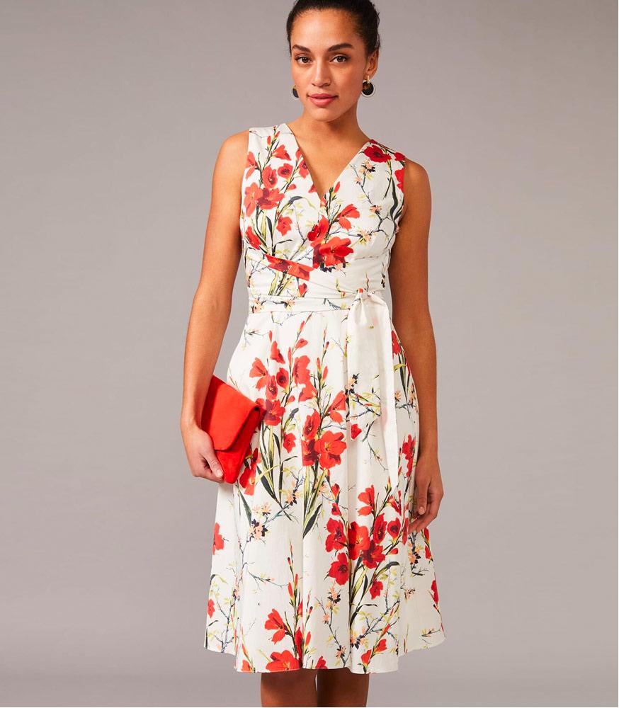 Sofia Floral Cotton Dress