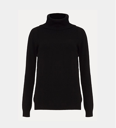 Shop Freya Fitted Polo Neck Jumper