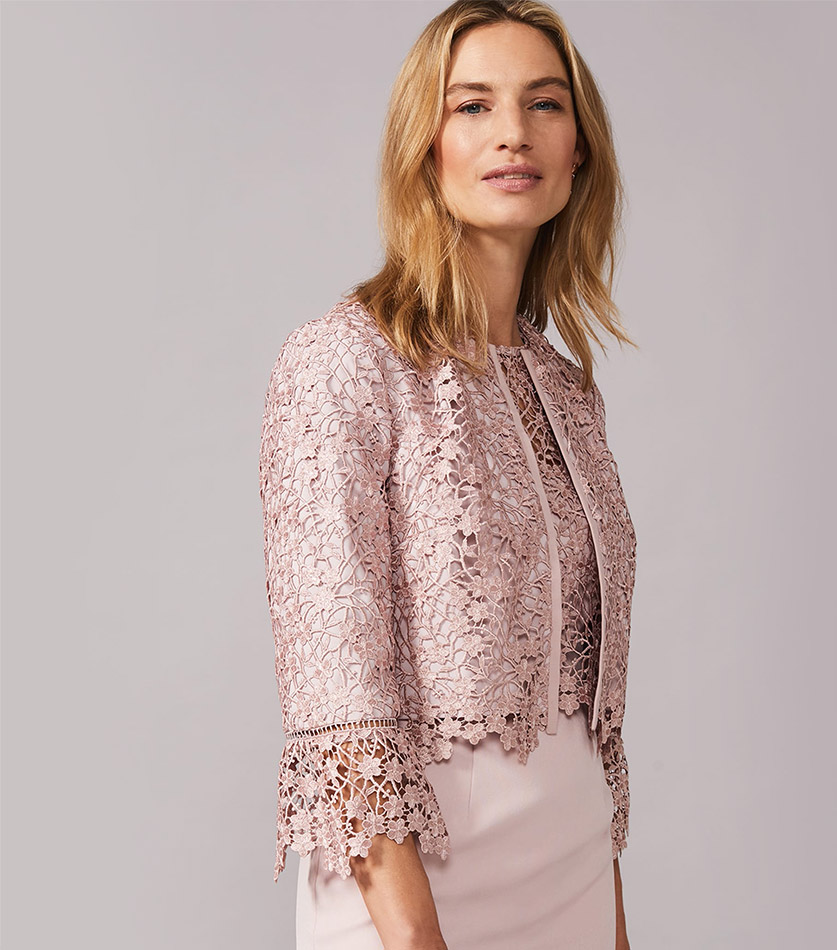 Mariposa Lace Jacket