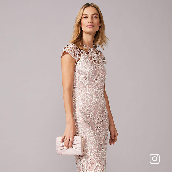 Frances Lace Fitted Dress