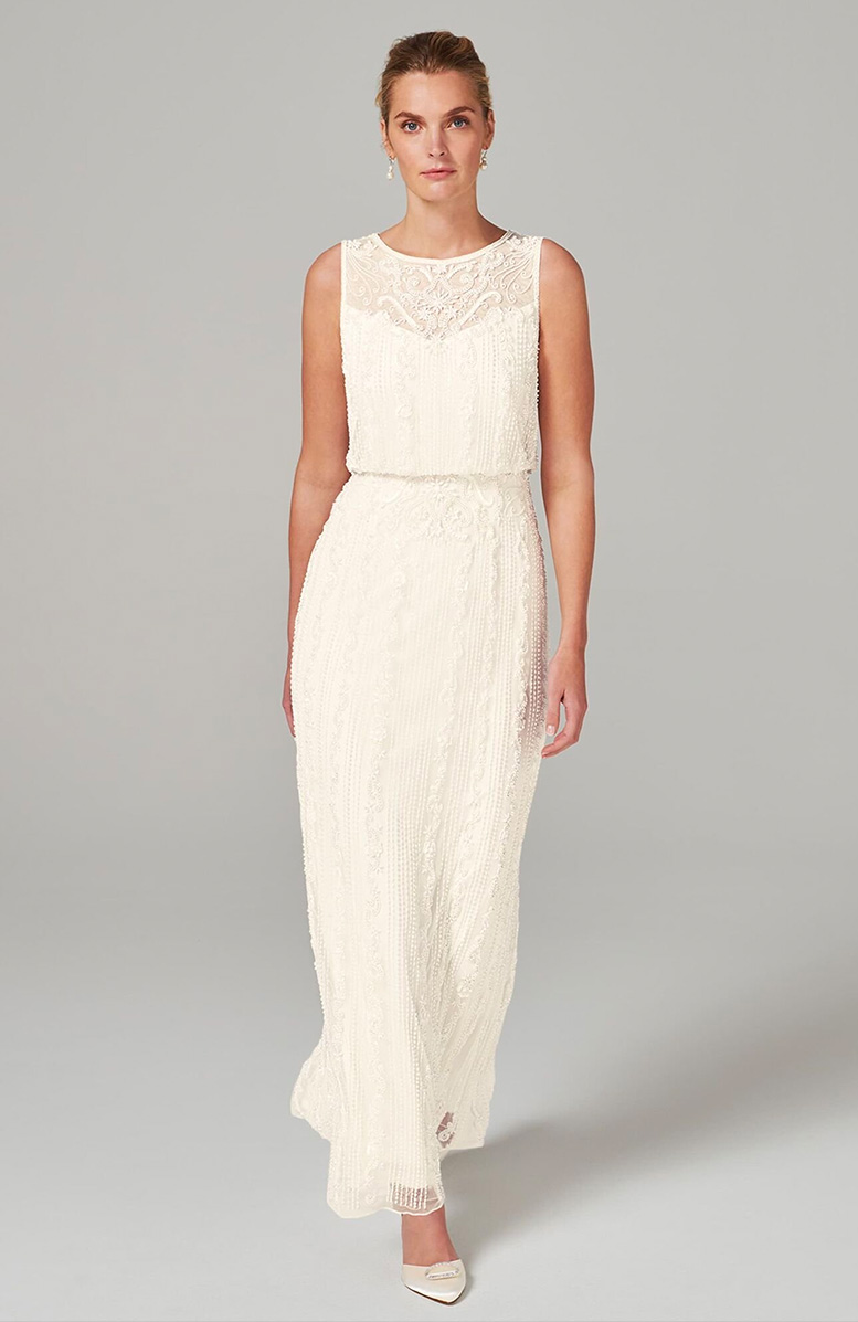 Evaline Embellished Wedding Dress