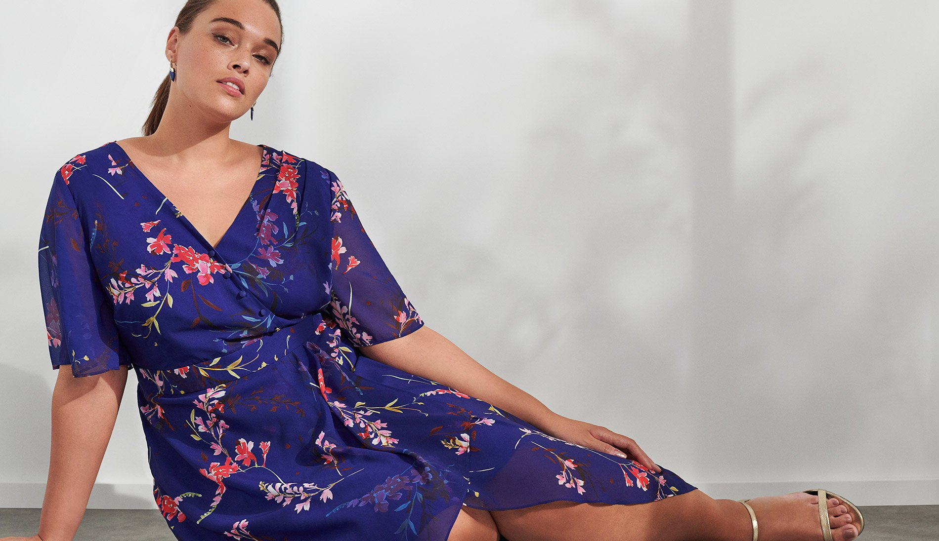 Evie Floral Dress