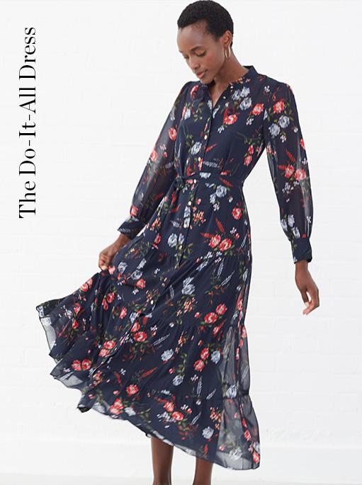 Noeva Floral Maxi Dress £130