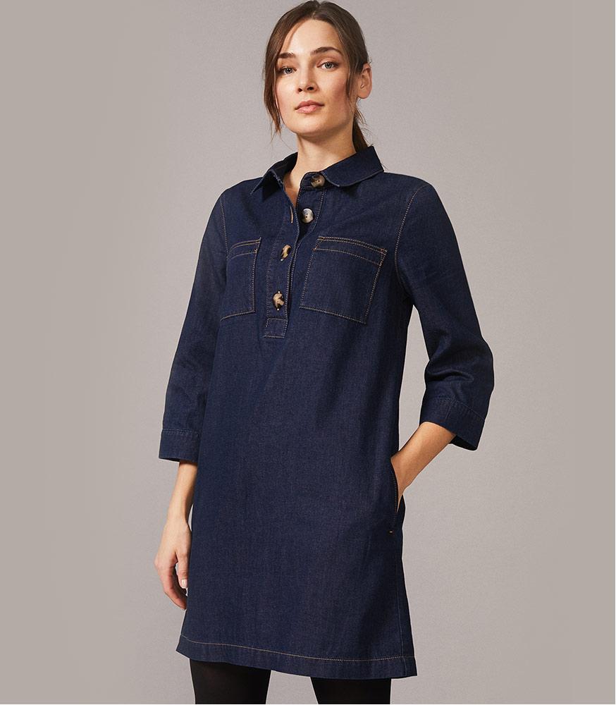 Kirsty Denim Dress
