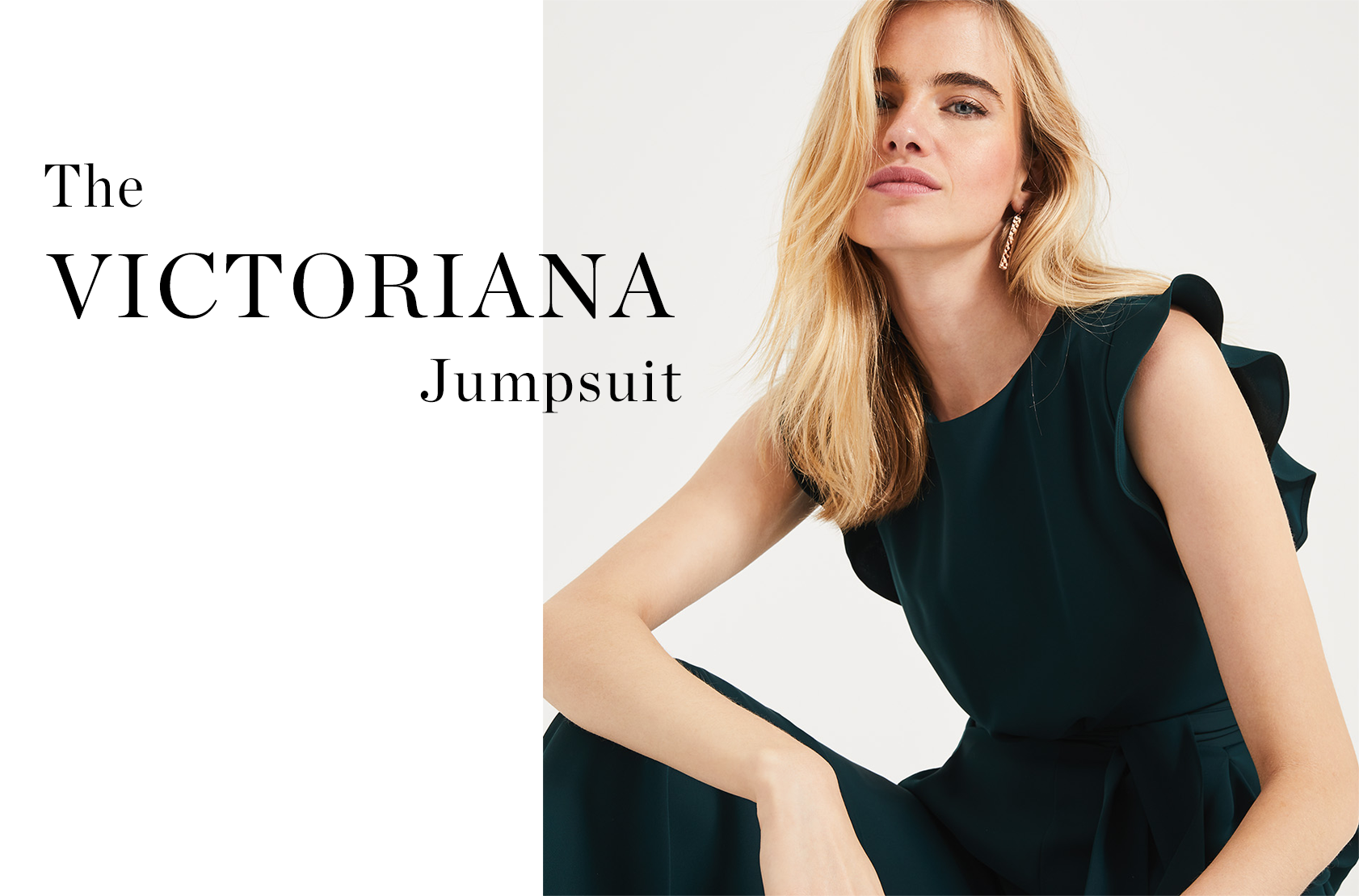 Shop Victoriana Jumpsuit