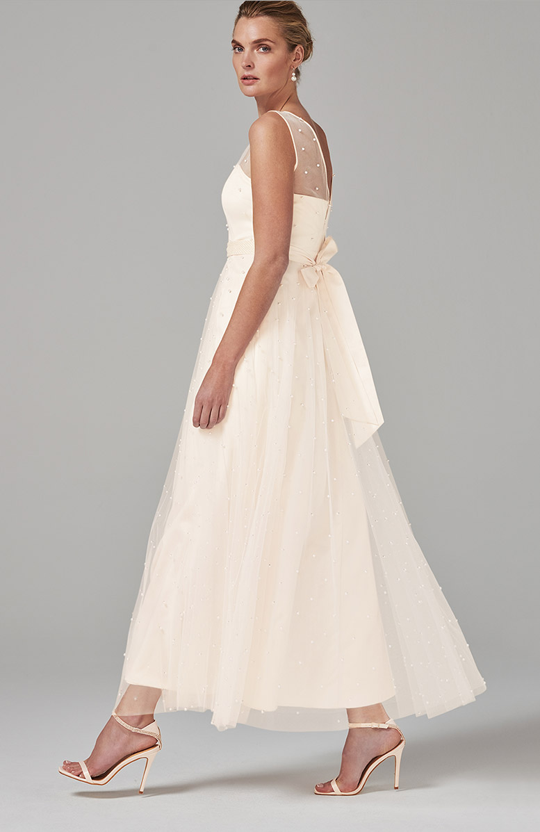 Genova Beaded Wedding Dress - £350