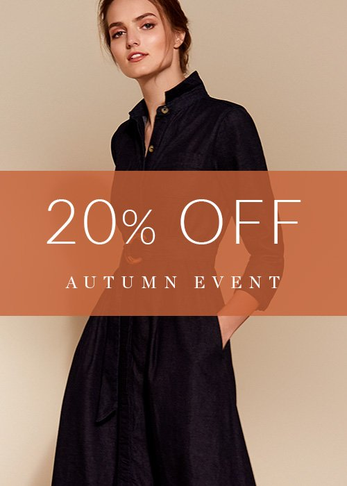 Shop 20% Off - Autumn Event
