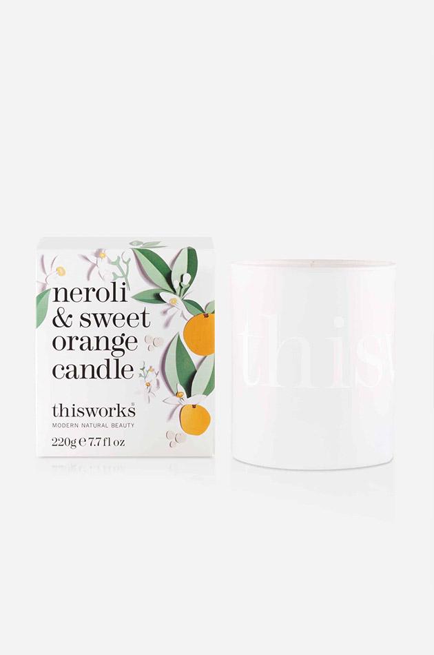 Neroli And Sweet Orange Candle