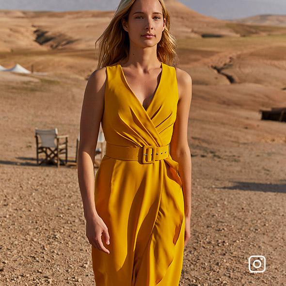 Lara Belted Maxi Dress