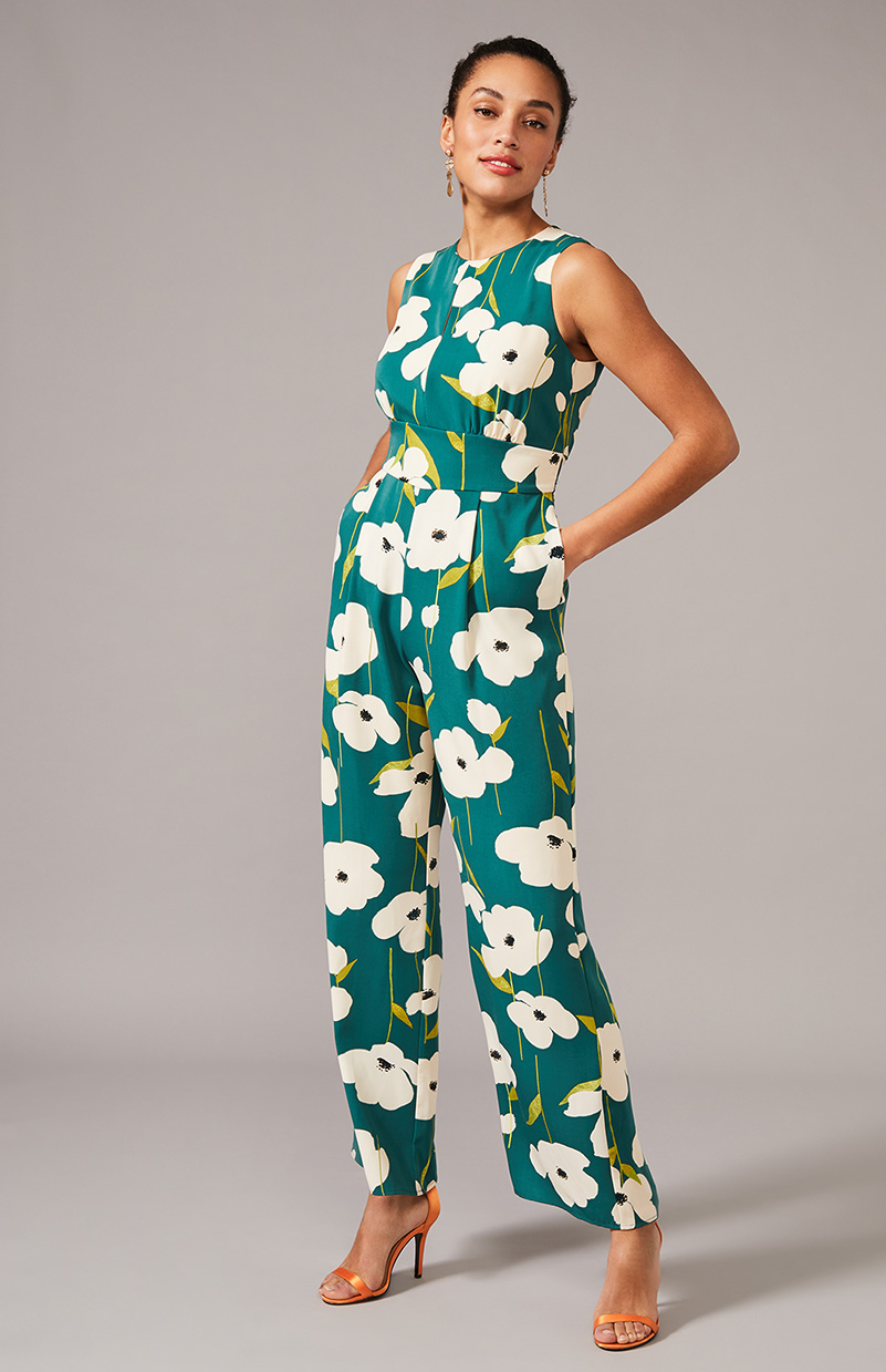 Lou-Poppy Printed Jumpsuit