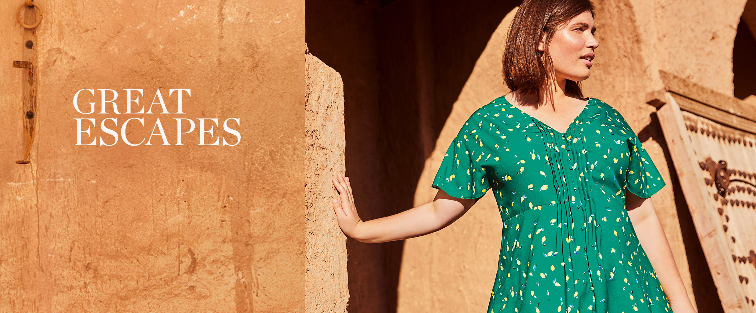 Great Escapes - Tick 'perfect holiday wardrobe' off your list. Discover More