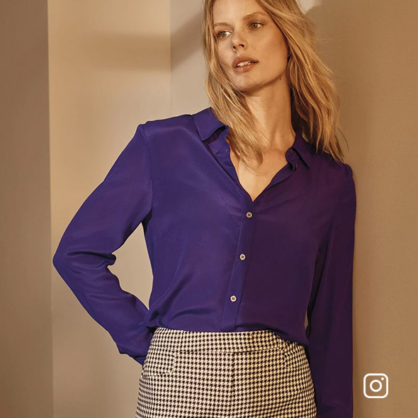 Maeve Silk Shirt