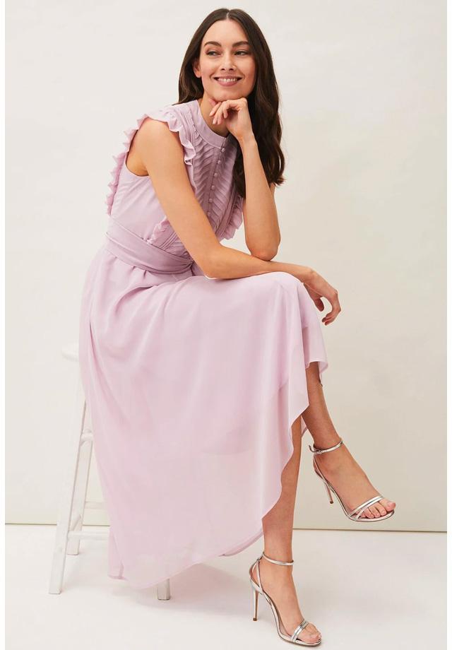 Iris Frill Dress