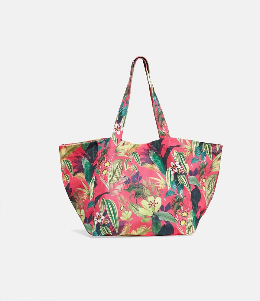 Amelia Floral Tote Bag