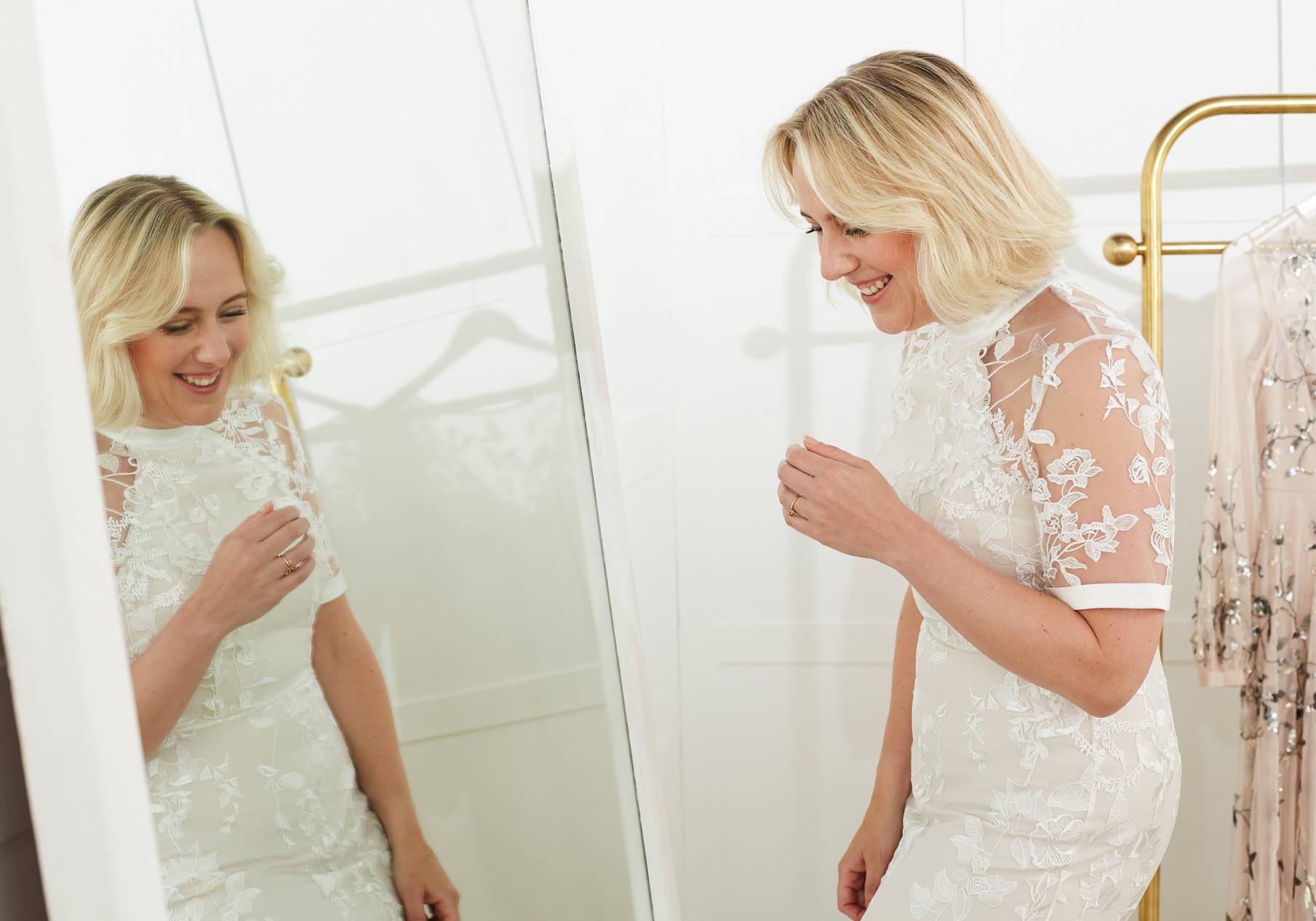 Poppy Embroidered Wedding Dress
