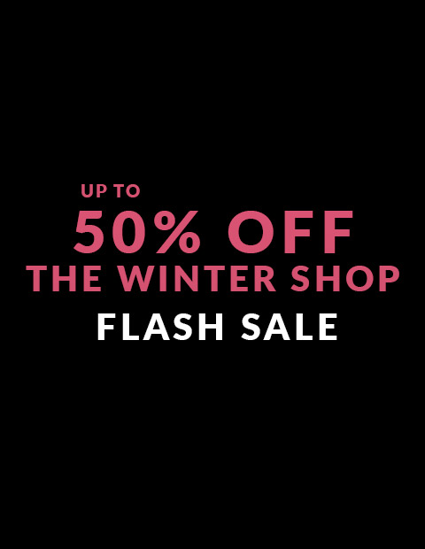Up to 50% off The Winter Shop