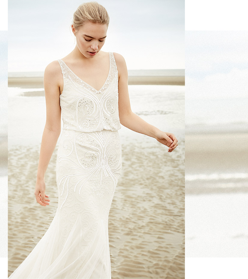 Cathlyn Wedding Dress £495
