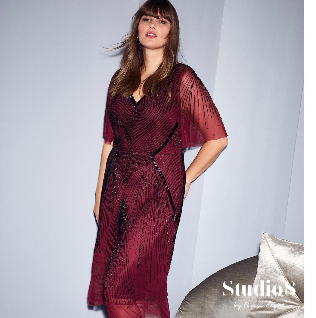 Natasha Beaded Dress