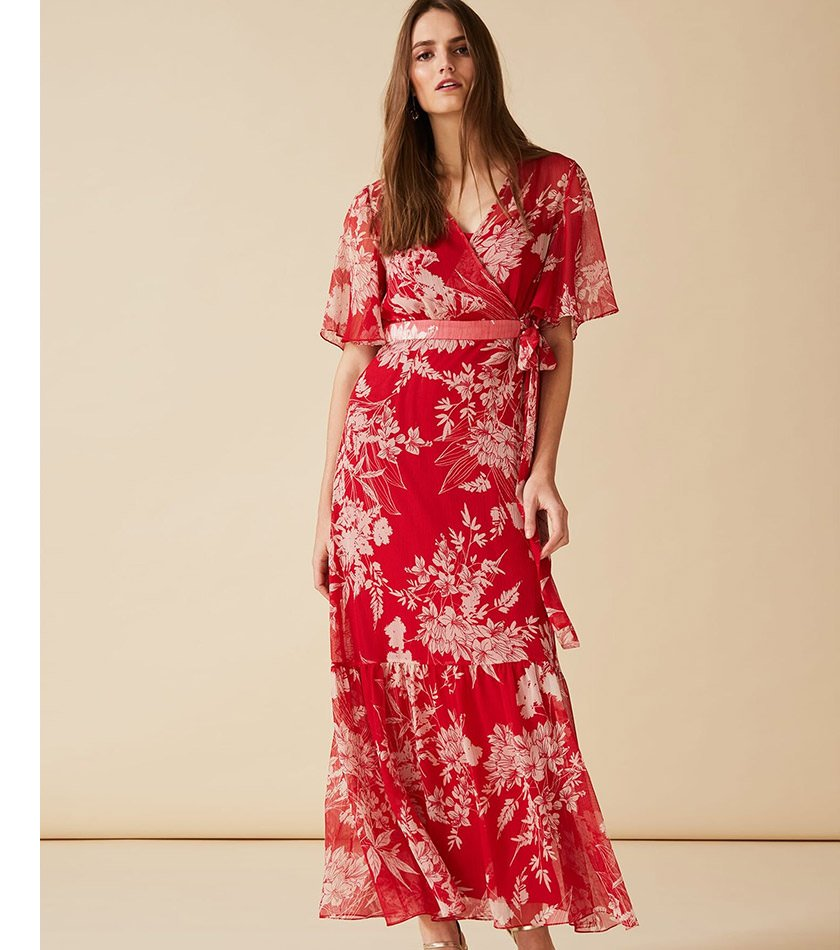 Amy Printed Maxi Dress