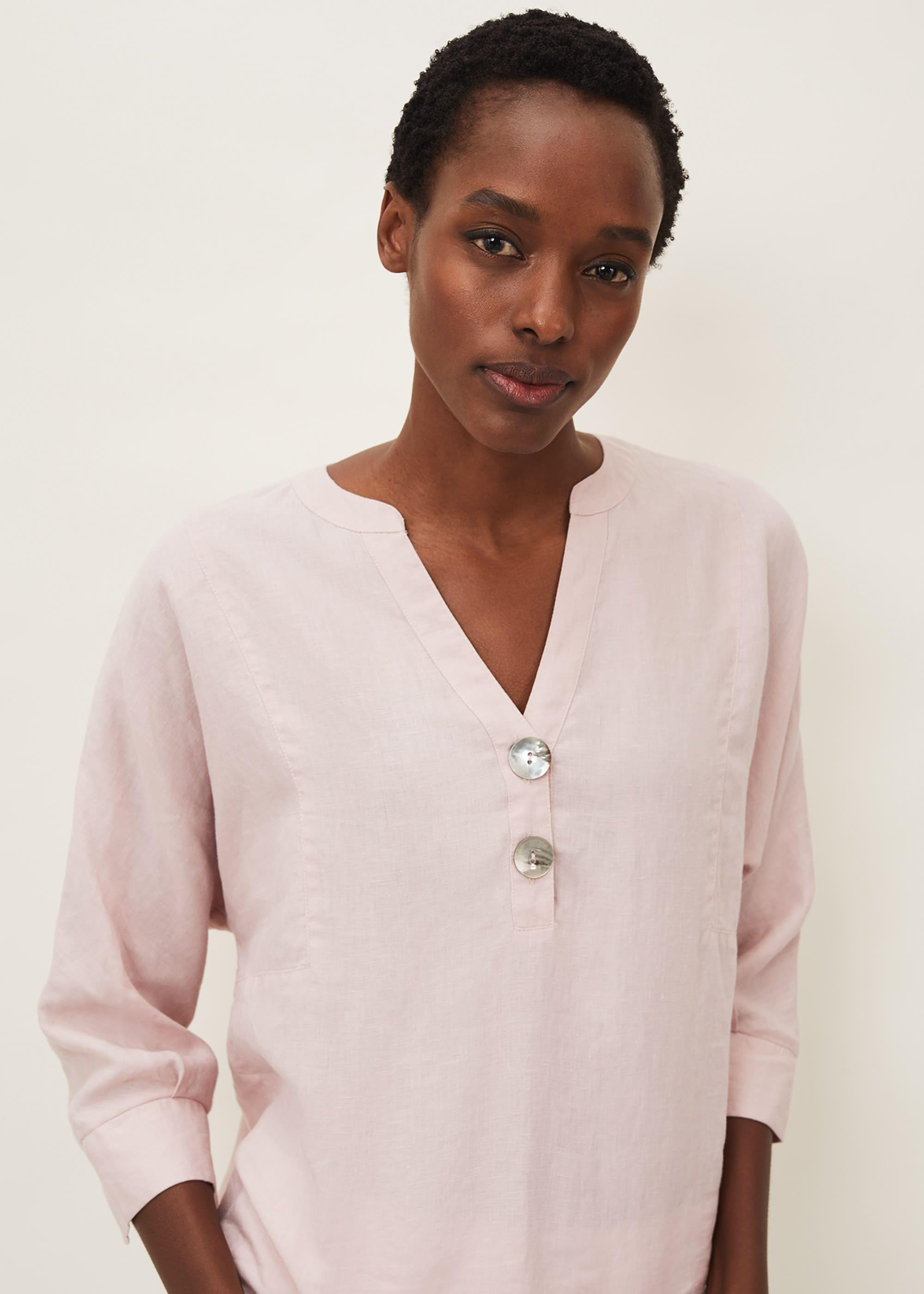 Phase Eight Women Maryema Linen Blouse