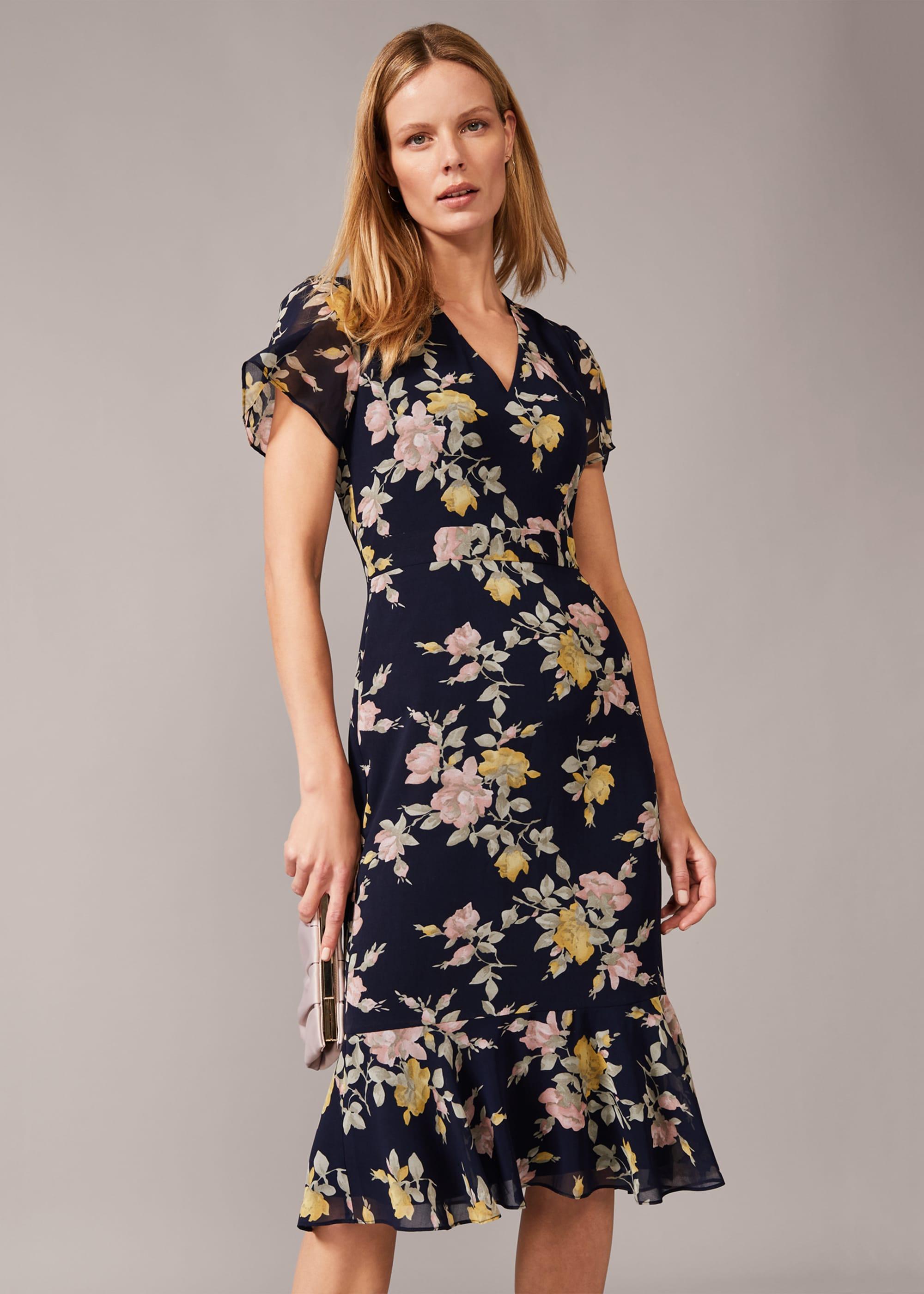 Phase Eight Women Melissa Floral Tea Dress