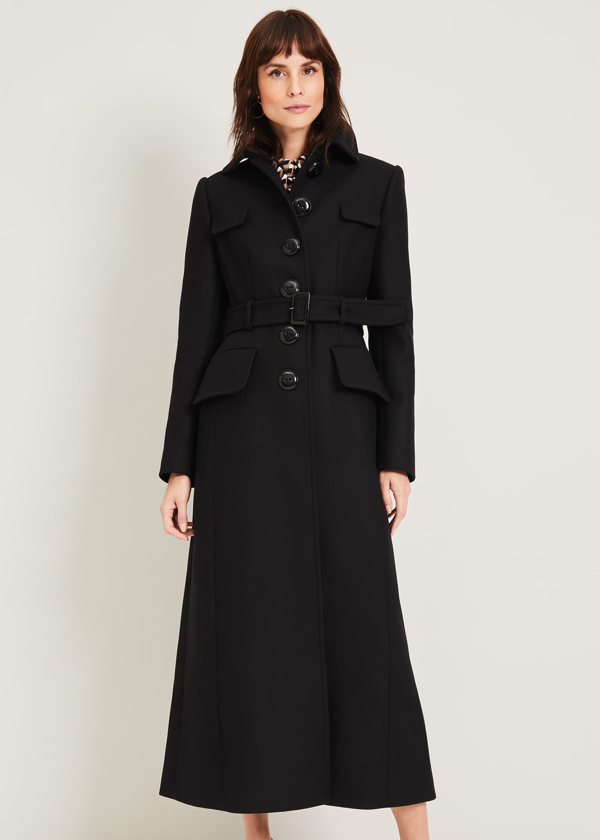 Damsel in a Dress Women Collette Wool Coat