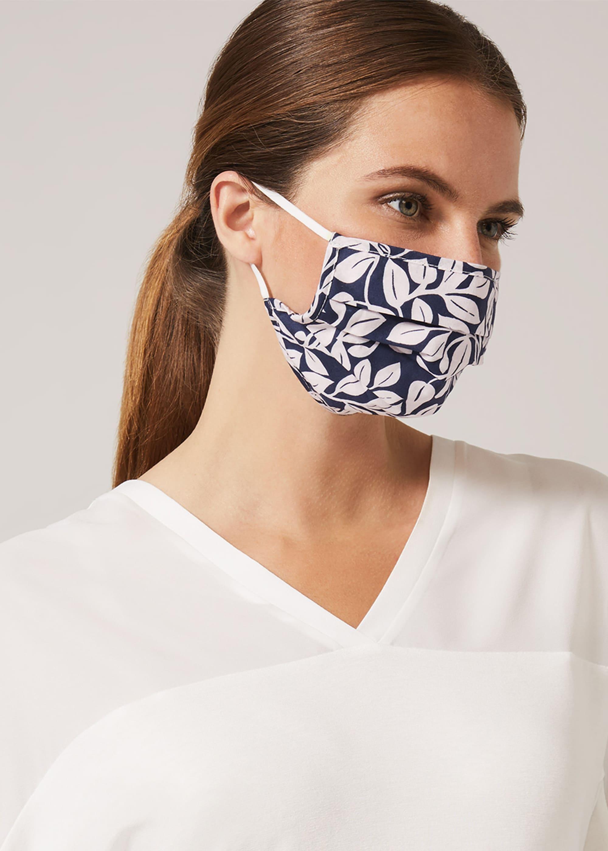 Phase Eight Women Hasina Leaf Face Mask