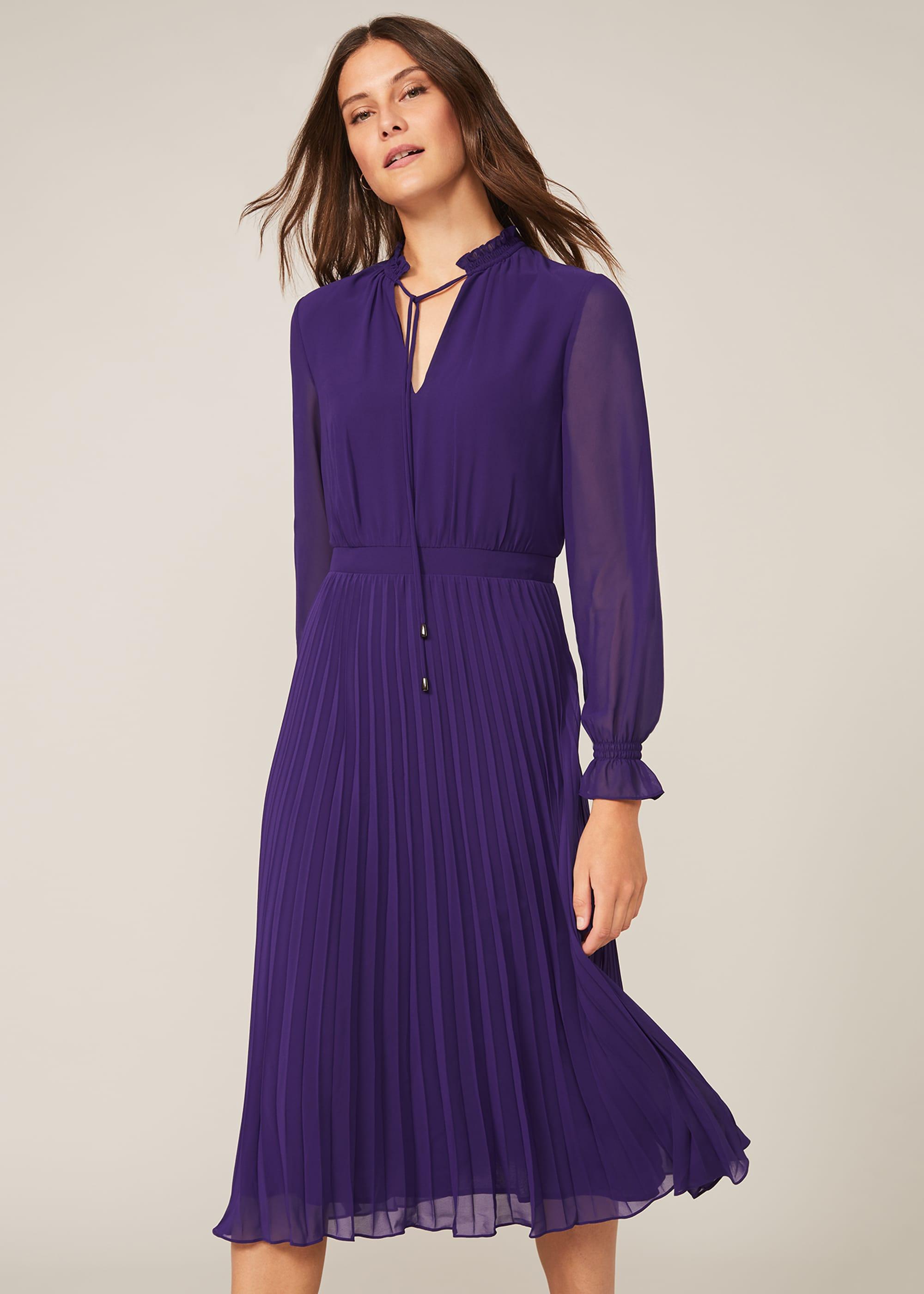 Phase Eight Women Iris Pleat Dress
