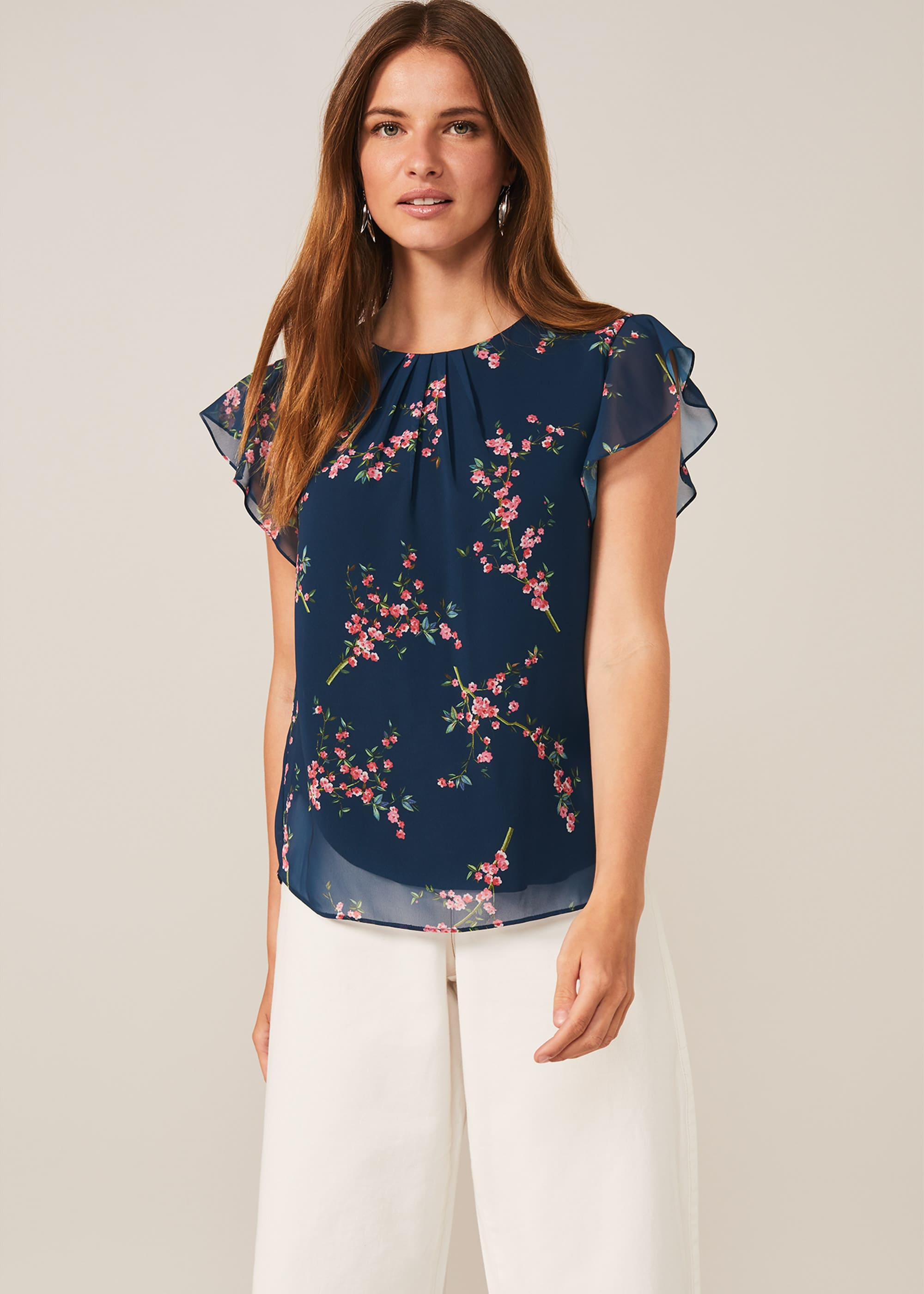Phase Eight Women Riley Floral Blouse