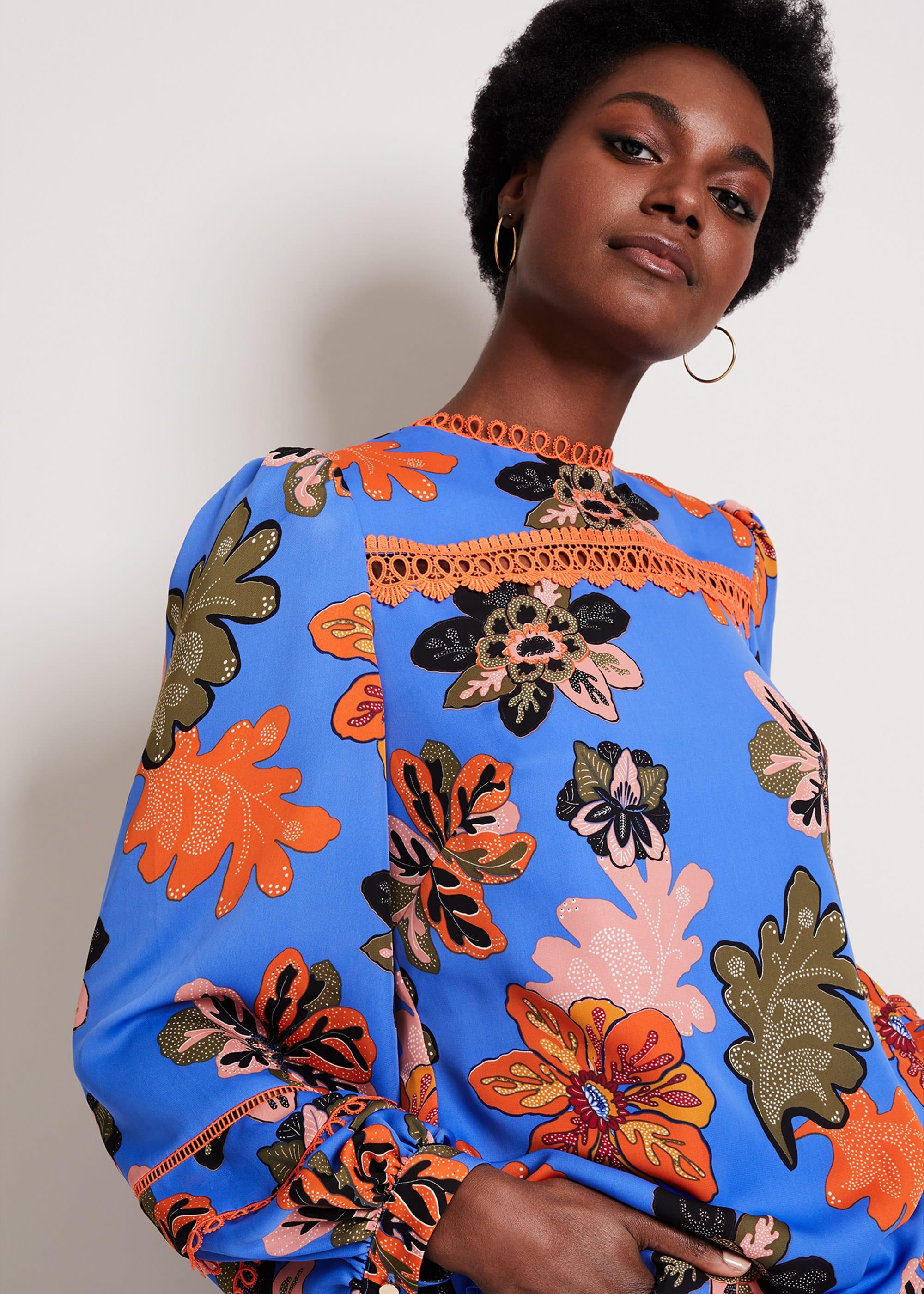 Damsel in a Dress Women Binx Floral Print Blouse