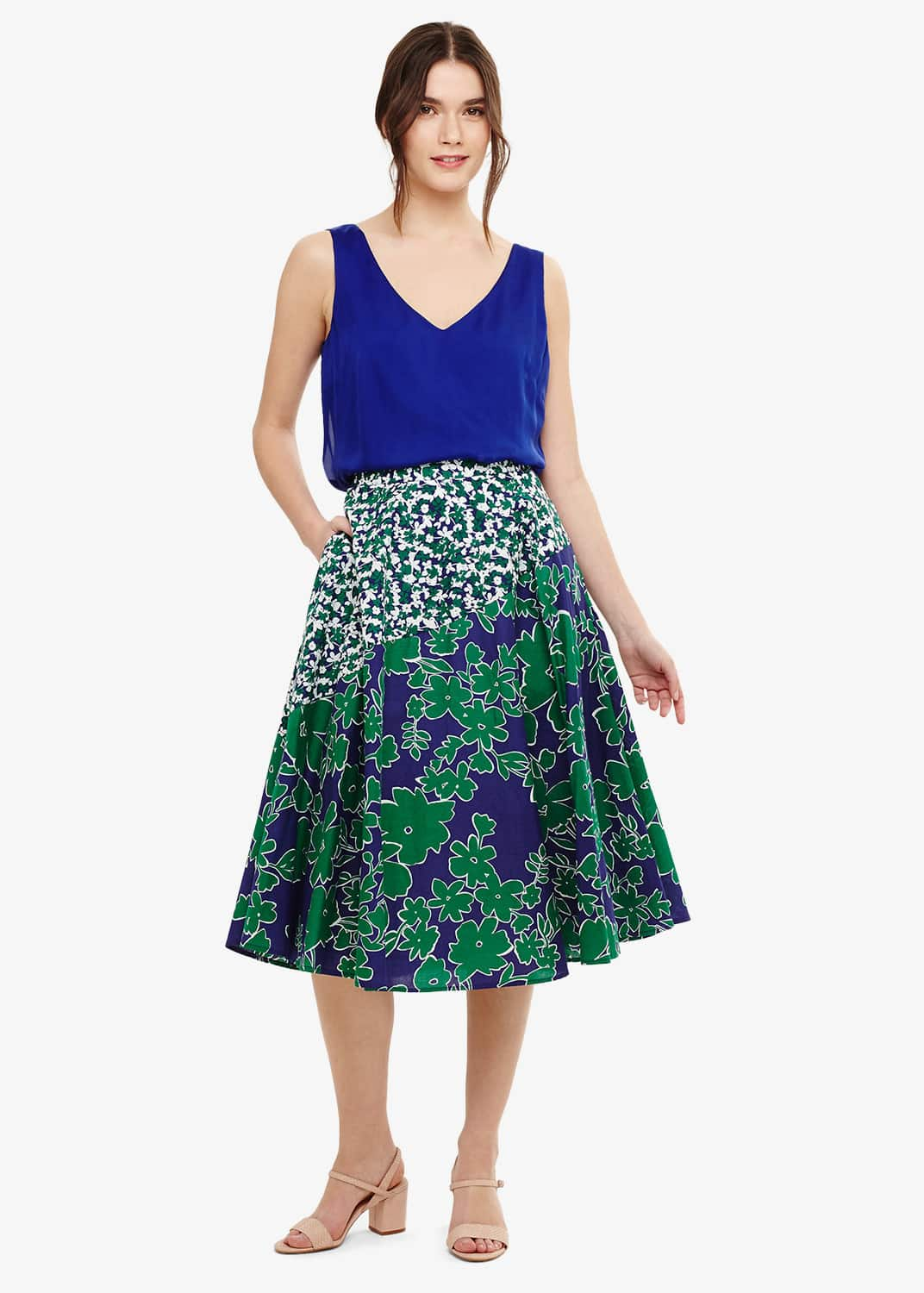 Phase Eight Women Eloise Floral Printed Skirt