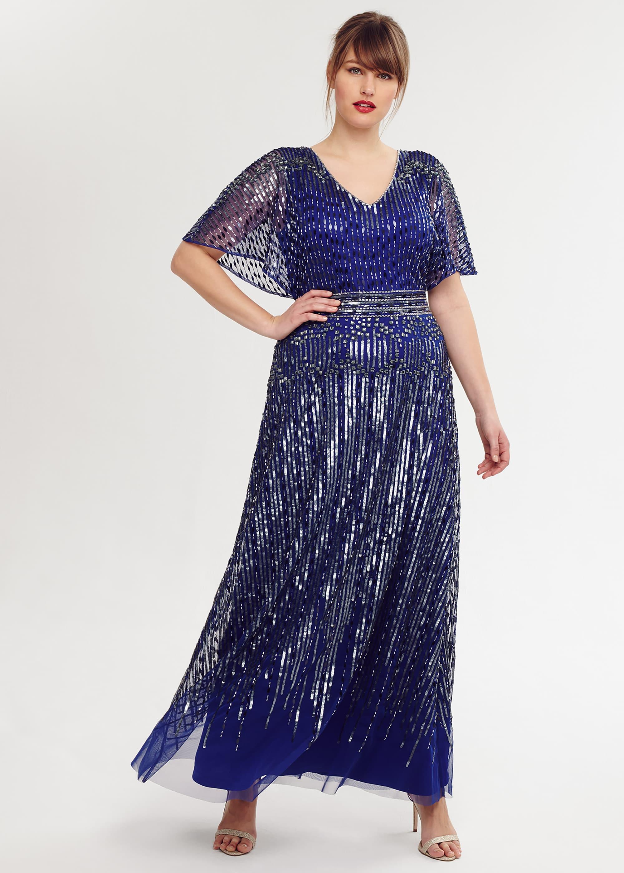 Studio 8 Women Athena Beaded Maxi Dress