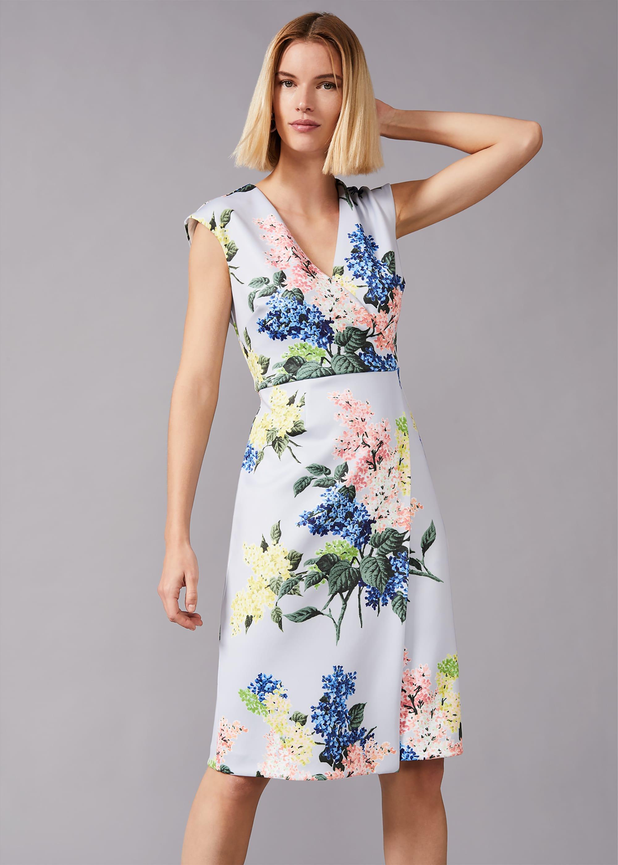 Phase Eight Women Frannie Floral Scuba Dress