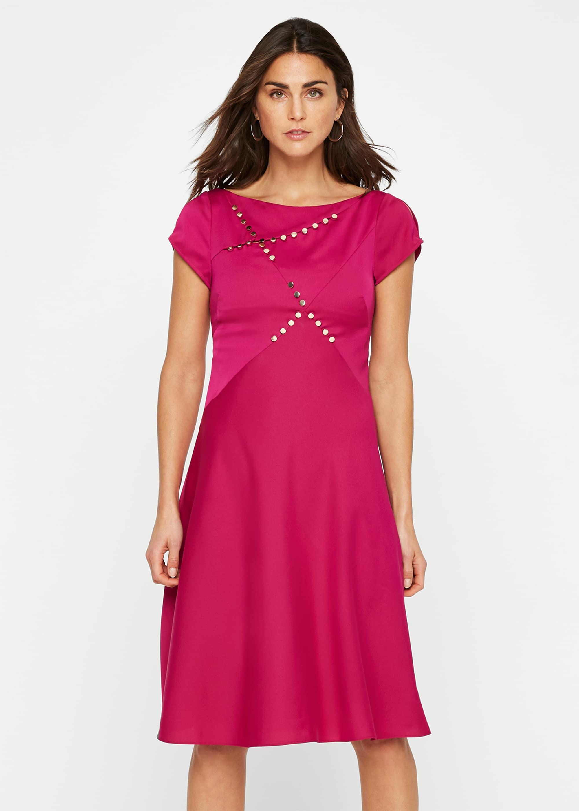 Damsel in a Dress Women Delia Stud Detail Dress