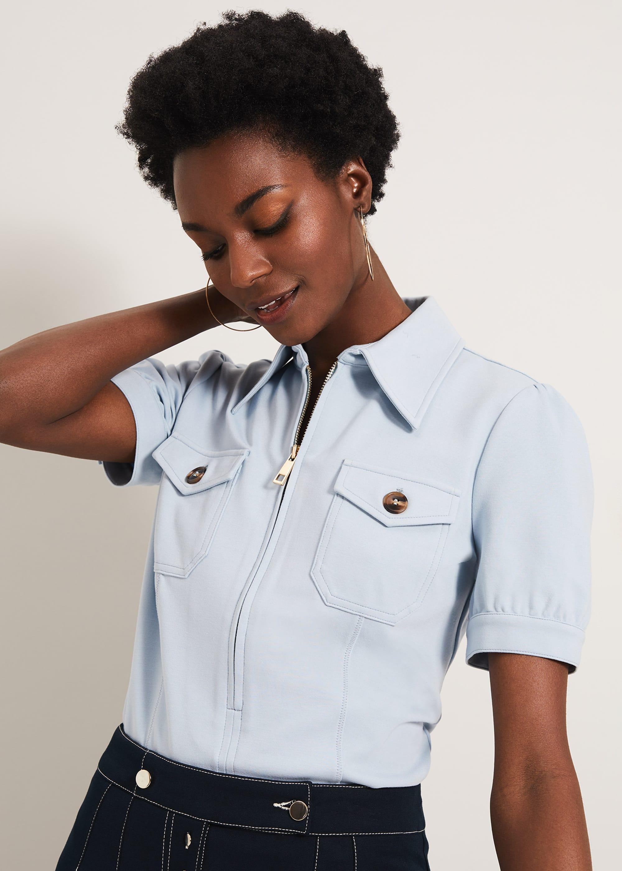 Damsel in a Dress Women Kadie Short Sleeve Top