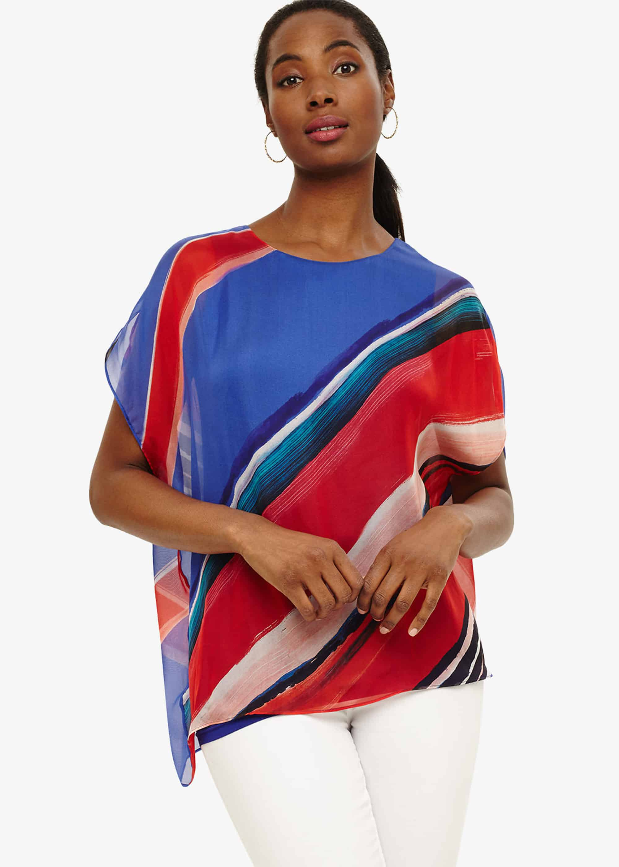 Phase Eight Women Harper Silk Stripe Blouse