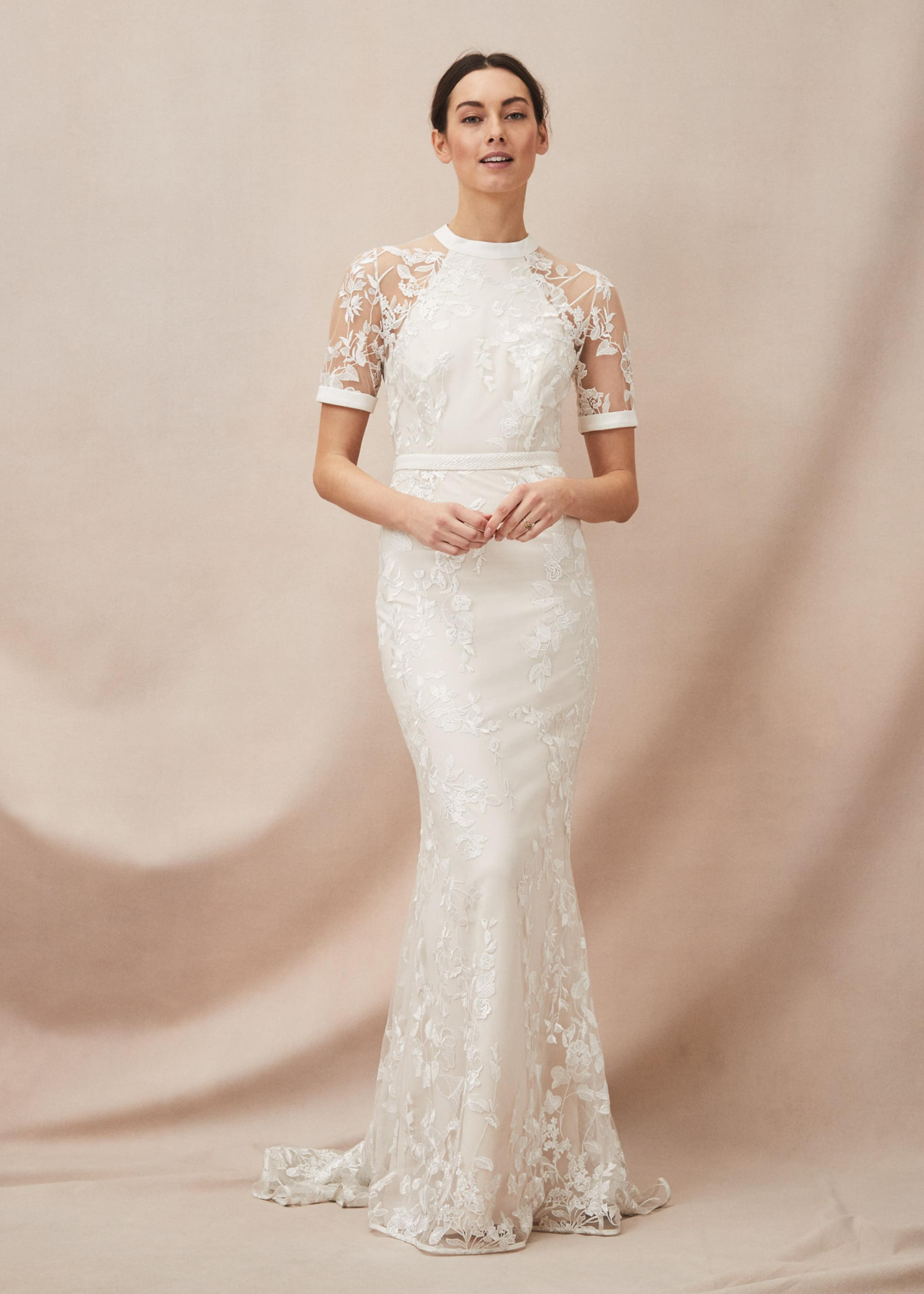 Phase Eight Women Poppy Embroidered Wedding Dress